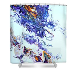 Fire Ball Shower Curtain