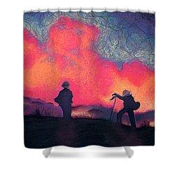Fire Crew Shower Curtain