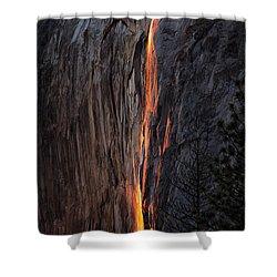 Fire Fall Shower Curtain