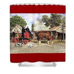 Fire Fire  Shower Curtain
