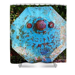 Fire Hydrant #3 Shower Curtain