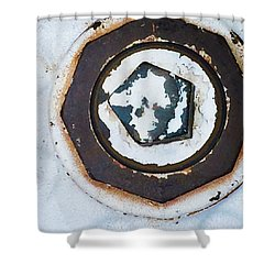 Fire Hydrant 9 Shower Curtain