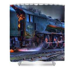 Fire In Her Belly Shower Curtain