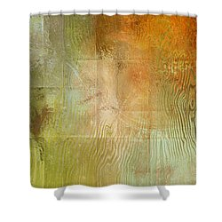 Fire On The Mountain - Abstract Art Shower Curtain