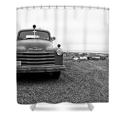 Fire Truck  Shower Curtain