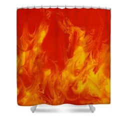Fire Within Shower Curtain