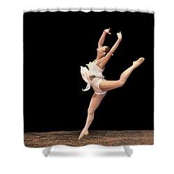 Firebird Ballet Position Shower Curtain