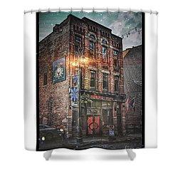 Firebird Tavern Shower Curtain by Donald Yenson