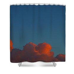 Fireclouds 2 Shower Curtain