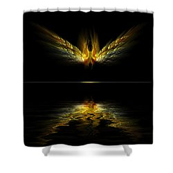 Firefly Shower Curtain by Gordon Engebretson