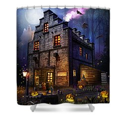Firefly Inn Halloween Edition Shower Curtain