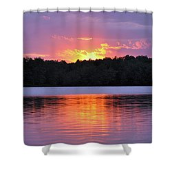 Shower Curtain featuring the photograph Sunsets by Glenn Gordon
