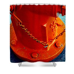 Fireplug II Shower Curtain