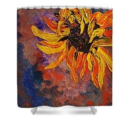 Firespace Flower  27 Shower Curtain