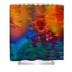 Firewall Berries Shower Curtain