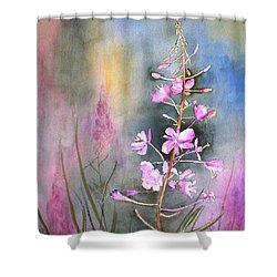 Fireweed Shower Curtain
