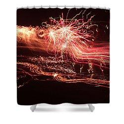 Firework Fantasy  Shower Curtain
