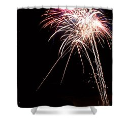 Fireworks 70 Shower Curtain by James BO  Insogna