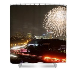 Fireworks Over Columbia Sc 1 Shower Curtain