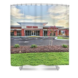 First Bank 4 Shower Curtain