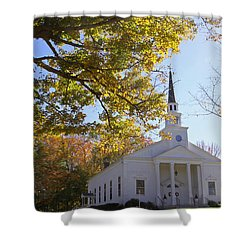 First Congregational Canterbury Shower Curtain