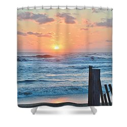 First Day Of Spring  Shower Curtain