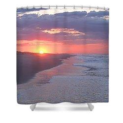 First Daylight Shower Curtain