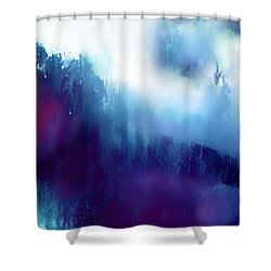 First Days Of Grief Shower Curtain by Menega Sabidussi