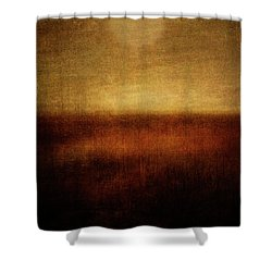 First Encounter Shower Curtain