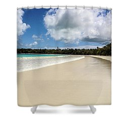 First Footprints Shower Curtain