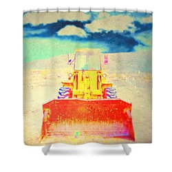 First In  Shower Curtain by Mark Ross