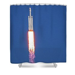 First Launch Shower Curtain
