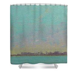 First Light Shower Curtain by Gail Kent