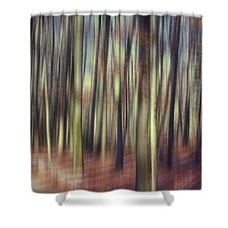 First Light Of Spring Shower Curtain