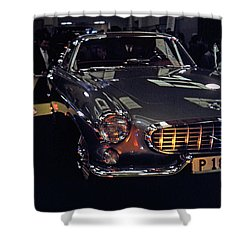 Shower Curtain featuring the photograph First Look P 1800 by John Schneider