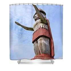 First Nations Welcome Shower Curtain