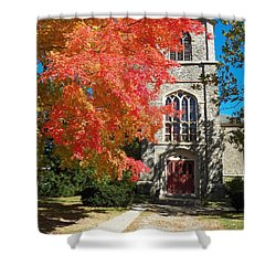 First Parish Unitarian Church Shower Curtain