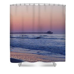 First Pier Shower Curtain