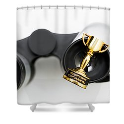 First Place Setting For Melbourne Cup Luncheon Shower Curtain