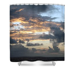 First Sunrise  Shower Curtain