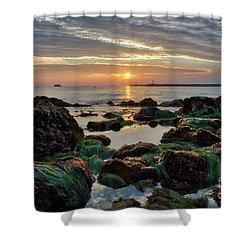 First Sunset Of 2018 Shower Curtain