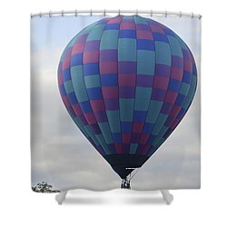 First To Take Off For The Atlantic Shower Curtain