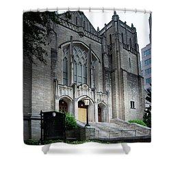First United Methodist Church Charlotte Shower Curtain