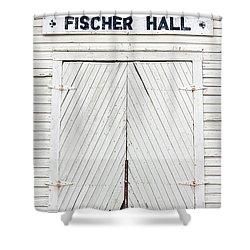 Fischer Dance Hall Shower Curtain