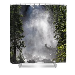 Fish Creek Falls Shower Curtain