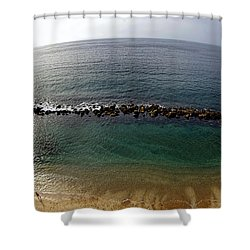 Fish Eye Shower Curtain