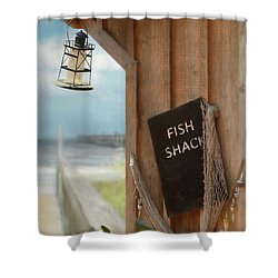 Shower Curtain featuring the photograph Fish Fileted by Lori Deiter