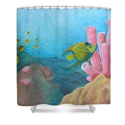 Fish Garden Shower Curtain