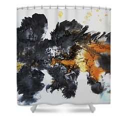 Fish In Stream 12030015fy Shower Curtain