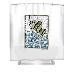 Fish In The Sea Shower Curtain